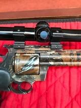 Colt Anaconda Camo with scope and original soft case - 7 of 15