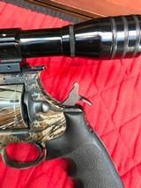 Colt Anaconda Camo with scope and original soft case - 14 of 15