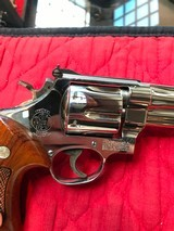 """Smith & Wesson 27-2 Nickel 8 3/8"""" with display case - 8 of 15"""