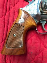 """Smith & Wesson 27-2 Nickel 8 3/8"""" with display case - 7 of 15"""