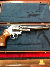 """Smith & Wesson 27-2 Nickel 8 3/8"""" with display case - 2 of 15"""