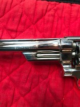 """Smith & Wesson 27-2 Nickel 8 3/8"""" with display case - 5 of 15"""
