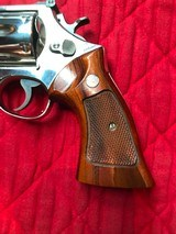 """Smith & Wesson 27-2 Nickel 8 3/8"""" with display case - 3 of 15"""