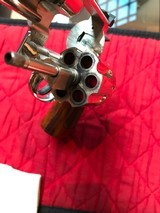 """Smith & Wesson 27-2 Nickel 8 3/8"""" with display case - 12 of 15"""