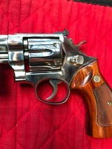 """Smith & Wesson 27-2 Nickel 8 3/8"""" with display case - 4 of 15"""