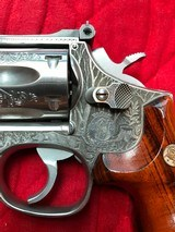 Smith & Wesson 648 Engraved - 4 of 15