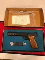 Smith & Wesson 41 with boxSN A660994