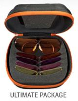 Shooting/Fishing Glasses Decot Hy-wyd Five Lens Sets/Frames and Case- Prescriptions Available All Discounted