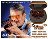 Shooting Glasses Decot Hy-Wyd Three Lens Set w/FREE SHOTSHELL Leather Holder Columbian Leather - 3 of 6
