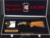 Krieghoff K-80 Gold Super Scroll Kolar Tube Set w/New Custom Americase w/Custom Cover