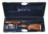 """Beretta DT-10 AS NEW 12 Gauge Pristine Top Single Trap 32"""" Shotgun w/chokes w/Beretta Case & Original Packing"""