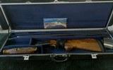 "Krieghoff K-80 Blue Super Scroll 32"" 12 Gauge w/Americase ""Great Sporting Clays"" Two Week Special"