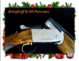 "Krieghoff Exceptional K-80 Parcours ""Special Grade"" 12 Gauge 32"" Sporting Clays Shotgun.....Excellent/Case& Briley Chokes"