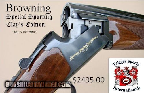 """Browning Citori Special Sporting Clays Edition 12 Gauge 32"""" Barrels"""