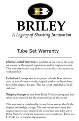 Briley 20, 28, 410 Ga. Companion Drop-In Tube Set, UltraLite Weight COMPLETE SET $1649.00 - Call for Add. Discounts - 14 of 15