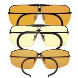 Decot Classic Hy-Wyd Glasses with HY-LO Bridge / Spring Hinge Temples all Lens Colors - 12 of 15