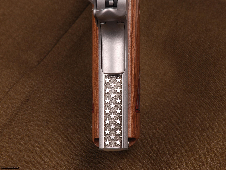 Kimber 1911 Custom Engraved by Altamont