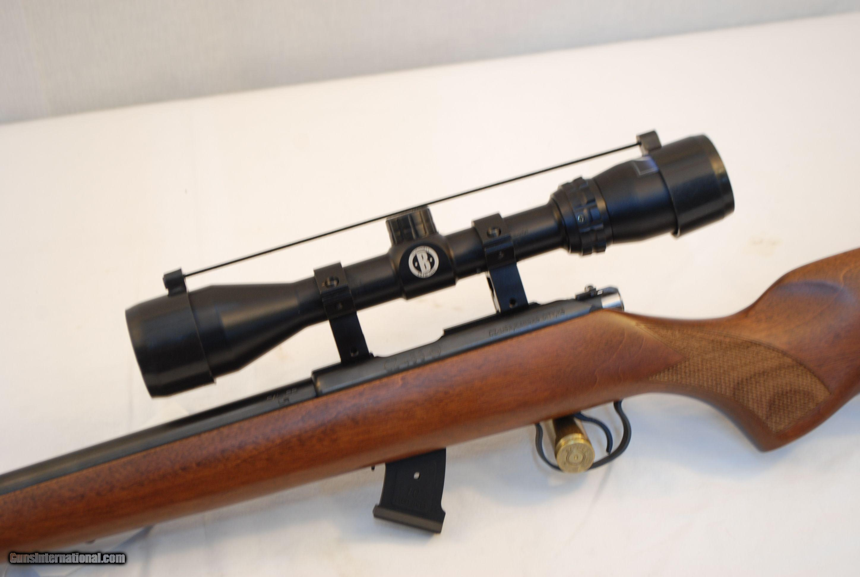 CZ 455 Varmint  22 LR w 10rd magazine and Bushnell Banner 3-9x40