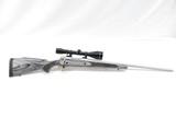 Remington 700 Stainless .300 WSM w Leupold VX-II 3-9x50 - 1 of 6