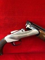 Benelli 828 U 20 Gauge with Beautiful engraving throughout the gun. - 10 of 12