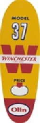Model 37 Genuine Licensed Winchester Tags