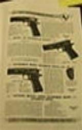 Colt 1934 Gun Company Catalog - 2 of 4