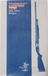 Instruction Manual for Winchester Model 12
