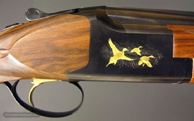 Browning - Churchill Engraved - Superlight, 12ga.