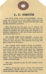 L. C. Smith Factory Original Hang Tag - 2 of 2