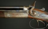 Joseph Lang Steel Barrel Hammer gun, .410ga, 28