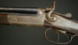 """H. Hodgson Top Lever Steel Barrel Hammer gun, .410ga, 26"""" Barrels - 1 of 8"""