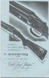Winchester Pre War Catalog Reprint - 1 of 4