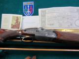 """P.Beretta - SO3 EELL - Imperial, 12ga./12ga. 2 barrel set, 28"""" barrels - 9 of 9"""
