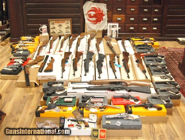 Carmichel / Ruger Collection for sale