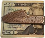 Engraved Galazan Sidelock Moneyclip