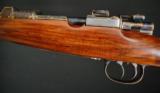 HARTMANN & WEISS- Mauser double square bridge action, 7 X 64 cal.