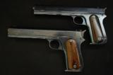 Colt - Model 1900, .38 U.S. marked Navy contract pistols, Pair