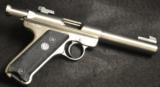 """Ruger- Mark II Target .22 cal 5.5"""" barrel - The Carmichel/Ruger Collection"""