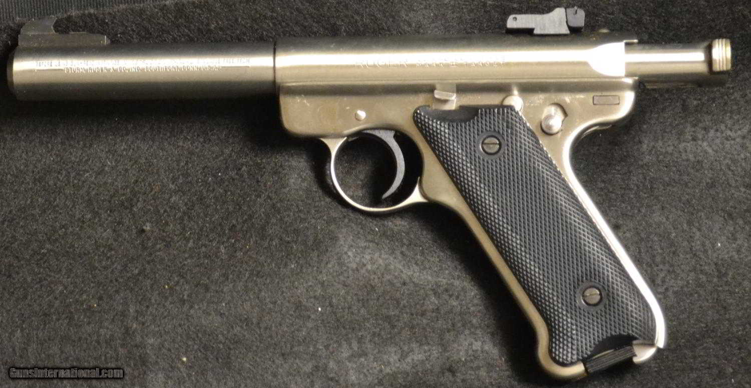 """How To Return A Used Car To The Dealer >> Ruger- Mark II Target .22 cal 5.5"""" barrel - The Carmichel/Ruger Collection"""