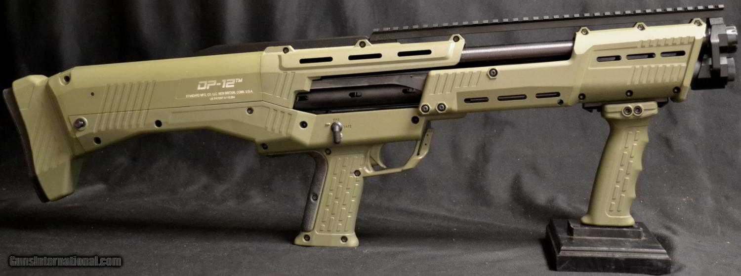 Standard Manufacturing Dp 12 Pump Shotgun In Od Green