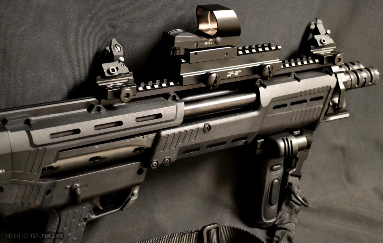 Standard Manufacturing, DP-12 Pump Shotgun