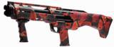 """Standard Manufacturing - DP-12, 12ga., 18 1/2"""" barrels in Red Cobra Snakeskin Camo"""