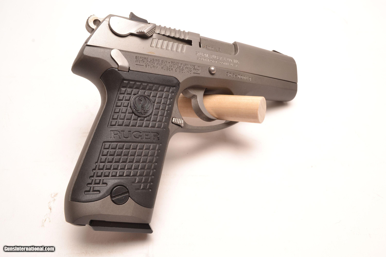 sturm ruger p94 stainless steel 9mm rh gunsinternational com ruger p94 instruction manual ruger p94 40 cal owners manual