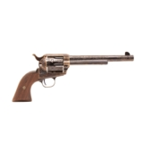 Standard Manufacturing, Single Action Revolver C-Coverage Engraving