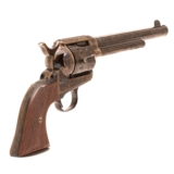 Standard Manufacturing, Single Action Revolver C-Coverage Engraving - 3 of 17