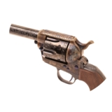 Single Action Revolver C-Coverage Engraving - 14 of 17