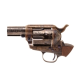 Single Action Revolver C-Coverage Engraving - 12 of 17