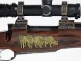 "Galazan Custom,400 H&H Magnum , 23"" barrel, Connecticut Shotgun custom bolt action rifle - 1 of 15"