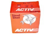 """Activ Steel Shot 12ga (3"""" Shell / 1 3/8 Oz / BB) - 25 Pack *LARGE QUANTITIES AVAILABLE*"""