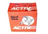 """Activ Steel Shot 12ga (2 3/4"""" Shell /1 1/4 Oz / 4 Shot) - 25 Pack *LARGE QUANTITIES AVAILABLE*"""